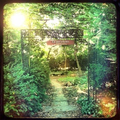 Photo taken at Highland Park Poet's Garden by Me on 8/17/2012