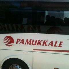Photo taken at Pamukkale Turizm by Fusun B. on 3/22/2012