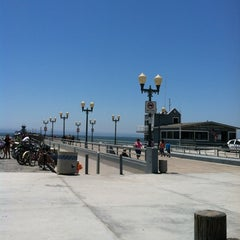 Photo taken at Seal Beach by Rebecca M. on 7/9/2012