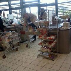 Photo taken at Carrefour Market - Boumhel by Hichem K. on 2/5/2012