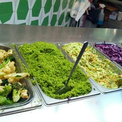 Photo taken at Maoz Vegetarian by Ryan W. on 5/12/2012
