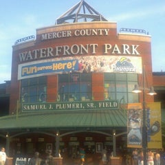 Photo taken at Arm & Hammer Park by Mark T. on 7/4/2012