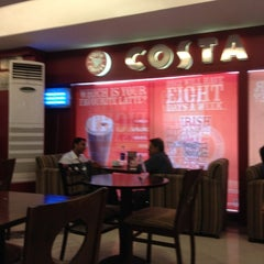 Photo taken at Costa Coffee by Nikhil K. on 3/27/2012