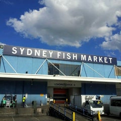 Photo taken at Sydney Fish Market by Mario H. on 5/3/2012
