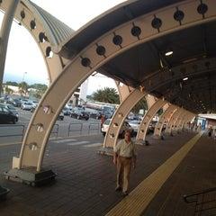 Photo taken at Aeroporto Internazionale di Lamezia Terme (SUF) by Ilenia d. on 6/18/2012