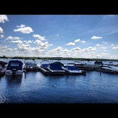Photo taken at Canandaigua City Pier by Girl Gone Travel on 6/7/2012