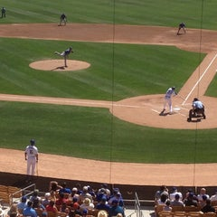 Photo taken at Camelback Ranch - Glendale by Jim B. on 3/16/2012