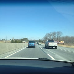 Photo taken at Pennslyvania Turnpike West by Alexandra H. on 2/26/2012