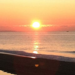 Photo taken at Scarborough State Beach by Melinda on 7/31/2012