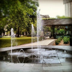 Photo taken at Sister Cities Park by winston y. on 6/19/2012