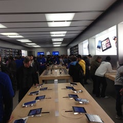 Photo taken at Apple Store, Pacific Centre by Jeff H. on 3/31/2012
