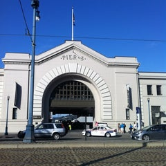 Photo taken at Central Embarcadero Piers by Alyssa on 5/7/2012