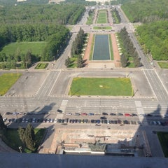 Photo taken at Географический факультет МГУ by Eugeniya V. on 5/16/2012