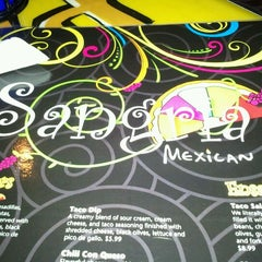 Photo taken at Sangria's Mexican Grill by Jamie V. on 3/31/2012