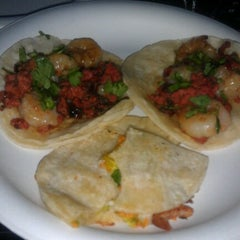 Photo taken at Dia De Los Tacos Cart by Jenn J. on 9/12/2012