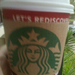 Photo taken at Starbucks by South Florida Food and Wine on 1/9/2012