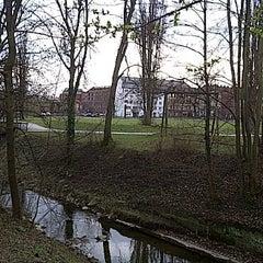 Photo taken at Nordstadtpark by Kurt H. on 3/25/2011