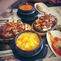 Photo taken at BCD Tofu House by Susan H. on 9/4/2012