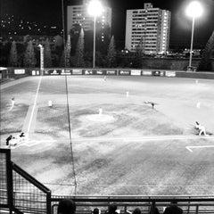 Photo taken at Les Murakami Stadium by Ben K. on 3/10/2012