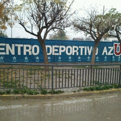 Photo taken at Centro Deportivo Azul by Enzo D. on 6/28/2012