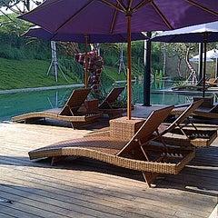Photo taken at Centra Taum Resort Seminyak by Kiki N. on 9/3/2012