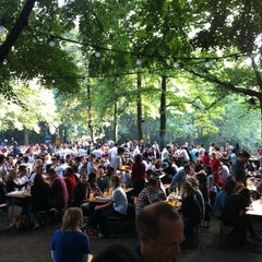 Photo taken at Café am Neuen See by Birdie B. on 6/28/2012
