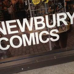 Photo taken at Newbury Comics by Joshua on 6/12/2012