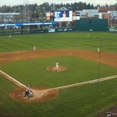 Photo taken at Cheney Stadium by Erik O. on 5/15/2011