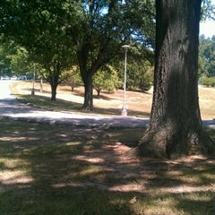 Photo taken at McNair Park by Angie S. on 7/19/2012