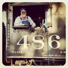 Photo taken at Durango & Silverton Narrow Gauge Railroad Co. by William D. on 5/10/2012