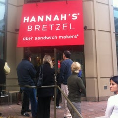 Photo taken at Hannah's Bretzel by Casey R. on 11/2/2011