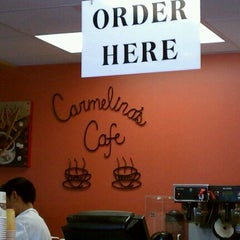 Photo taken at Carmelina's Cafe by Randy Q. on 9/8/2011