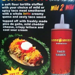 Photo taken at Hot Head Burritos by Clinton R. on 3/29/2012
