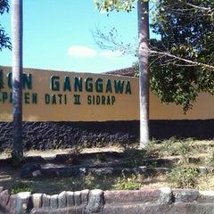 Photo taken at Stadion Ganggawa by Andiamor on 9/23/2011