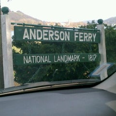 Photo taken at Anderson Ferry by Katherine C. on 11/12/2011