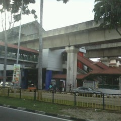 Photo taken at RapidKL Wangsa Maju (KJ3) LRT Station by Azeem H. on 7/22/2012