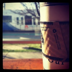 Photo taken at Millcreek Coffee Roasters by Jonny B. on 1/27/2012