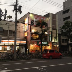 Photo taken at モスバーガー 北24条店 by Kenta N. on 10/15/2011