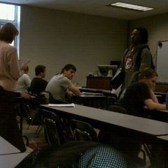 Photo taken at Elrod Science Building, Snead State by Andrew v. on 10/10/2011