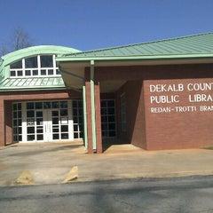 Photo taken at Redan Trotti Library by DJ Bobby D. on 12/23/2011