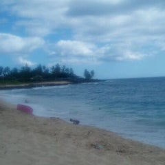 Photo taken at Makaha Beach Park by Dawn R. on 8/28/2011