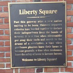 Photo taken at Liberty Square by Brady J. on 2/26/2012