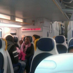 Photo taken at Malpensa Express (Cadorna) by Vavilov V. on 11/16/2011