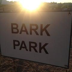Photo taken at David Lorenz Dog Park by Derek F. on 7/12/2012