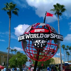 Photo taken at ESPN Wide World of Sports by Sue M. on 3/23/2012
