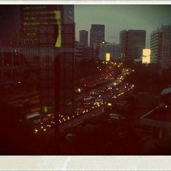 Photo taken at Jalan H.R. Rasuna Said by Didit H. on 11/24/2011