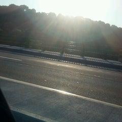 Photo taken at Hunts Falls Bridge by Josh H. on 6/21/2012