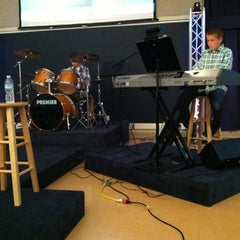 Photo taken at Northside Baptist by Erica on 8/5/2012