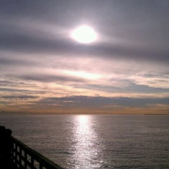 Photo taken at Seal Beach by Christian Phlebotomy J. on 1/14/2012