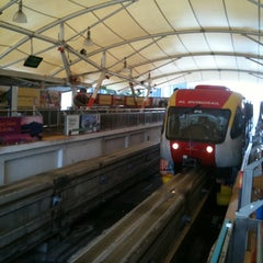 Photo taken at RapidKL Imbi (MR5) Monorail Station by Simon K. on 3/4/2011